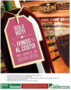SOLO HOY vinos para el brindis de los enamorados
