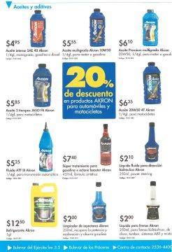 Ferreteria EPA descuentos en aceites y aditivos AKRON