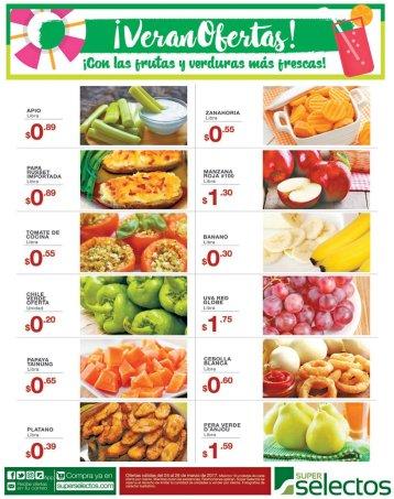 Frutas y Verduras con ofertas de viernes - 24mar17
