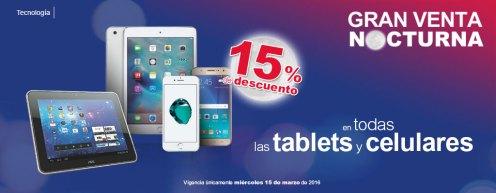 GRAN venta nocturna celulares y tablets 2017