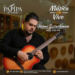 Jaime Zstarkman musica en vivo el salvador