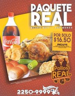 POLLOS REAL paque real para toda la familia