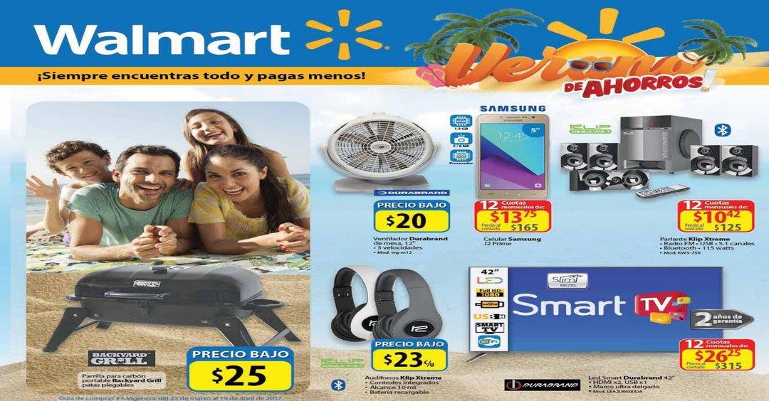 Guía de Compras [WALMART] ofertas de SEMANA SANTA 2017