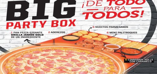 BIG party box pizza hut el salvador