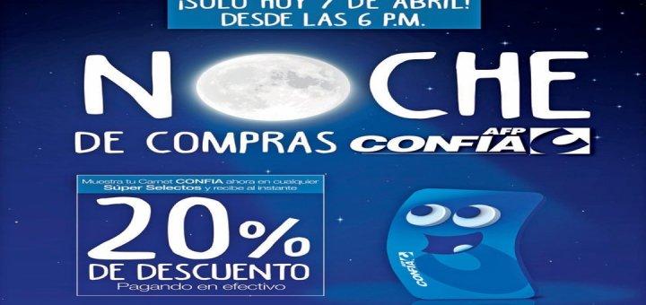 SUPER SELECTOS noche de compras semana santa 2017