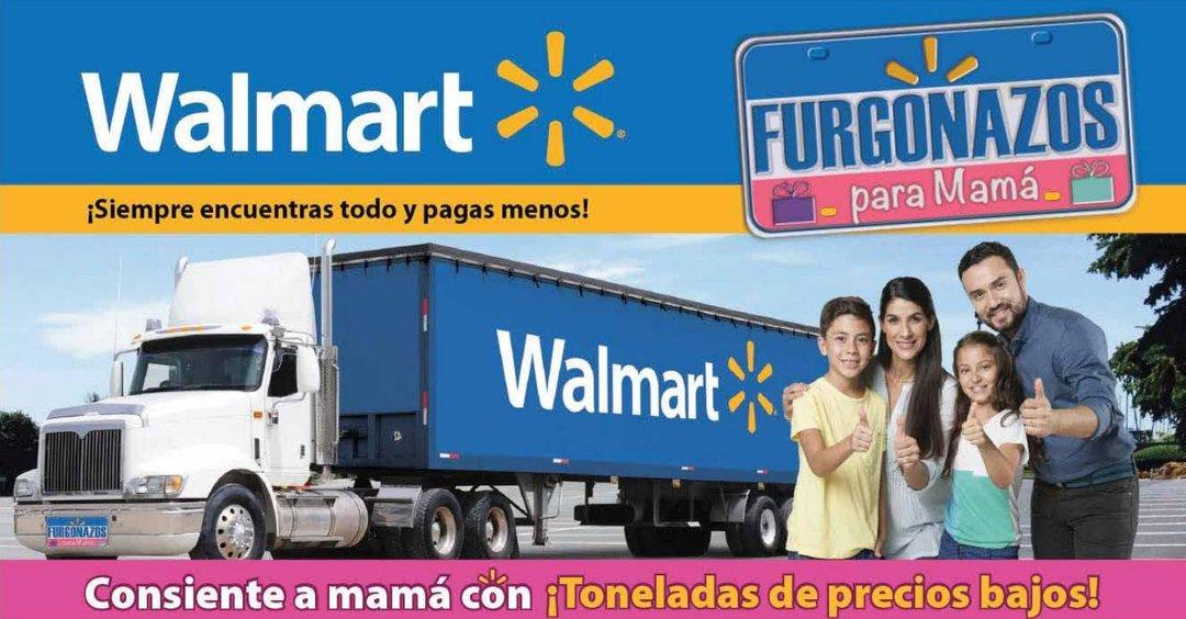 Furgonazos WALMART ofertas y guia de compras para el dia de la Madre 2017
