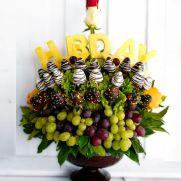 Arreglo con frutas y chocolates FLORISTERIA TAMIRA
