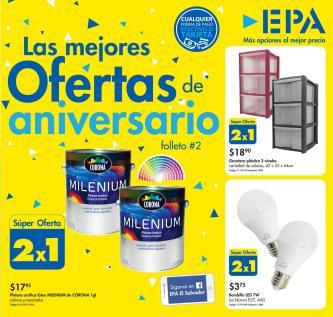 EPA Folleto 2 con ofertas de aniversario mayo 2017