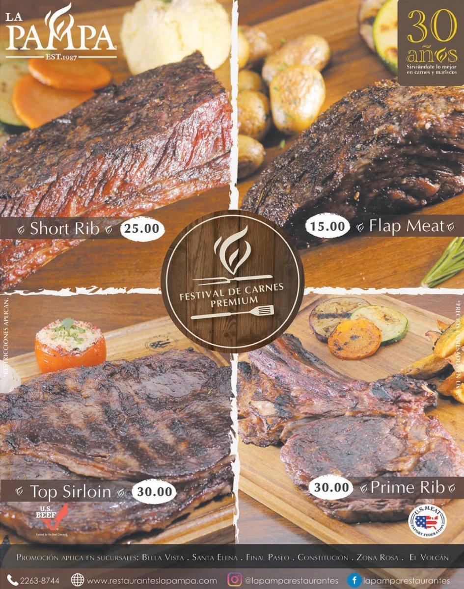 Festival de Carnes PREMIUM (La Pampa Restaurantes)
