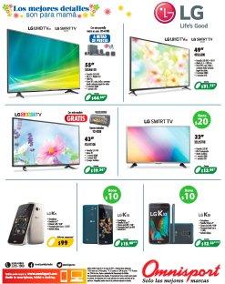 LG electronica de ultima generacion en celulares y pantallas