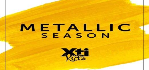 XTI KIDS shoes metallic trend