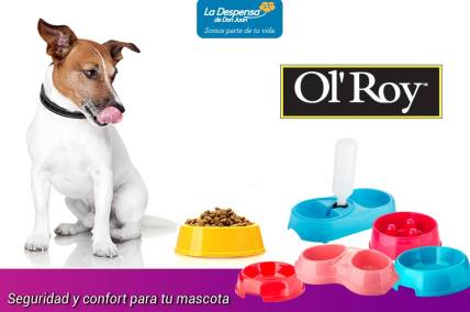 alimento para perros OL ROY disponible en la despensa