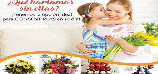 ofertas en flores para celebrar mother day 2017