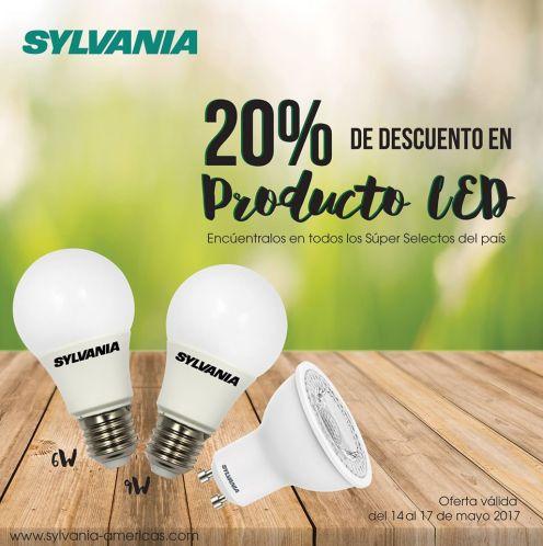 super selectos Descuento en productos de iluminacion LED