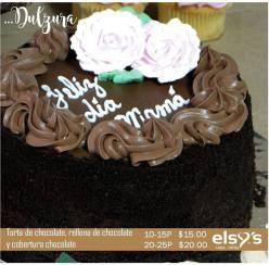 torta de cholocate para mamas