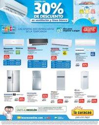 Aires acondicionados y Refrigeradoras en LA CURACAO
