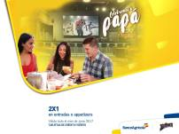 CELEBRA con papa en el mes de junio con banco agrciola promociones
