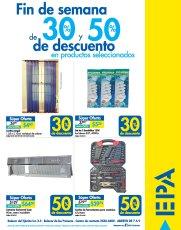 EPA sv Fin de semana con DESCUENTO en productos varios