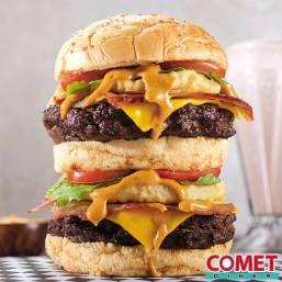 Gran comet burger pidela en la gran via y galerias