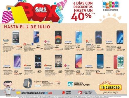 Gran variedad de celulares en la curacao BOXSALE