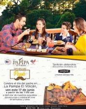 La Pampa el volcan lista para recibir a todos los PAPAS