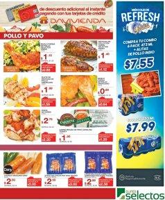 POLLO Y PAVO en oferta selectos frescos - 21jun17