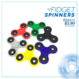 SIMAN juguetes FIDGET spinner BASIC deal