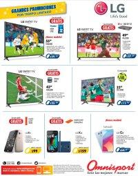SMART TV and smart phones LG