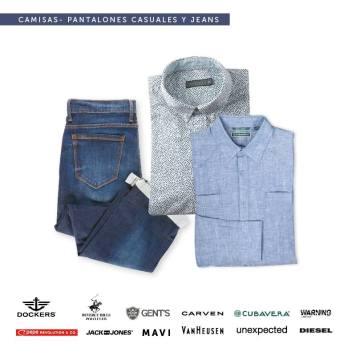 camisas y pantalosnes casuales disponibles para papa