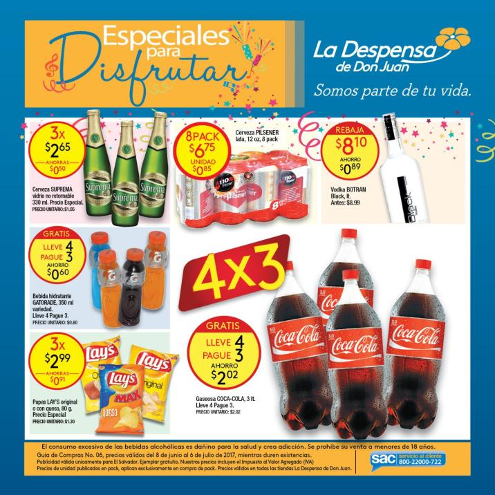 catalogo de ofertas la despensa de don juan junio 2017