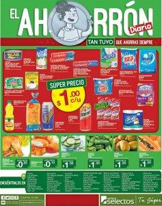 Super Selectos precios de UN DOLAR en varieda de productos - 28jul17