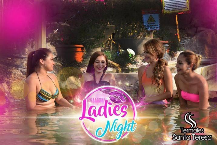 ladies night en termales santa teresa
