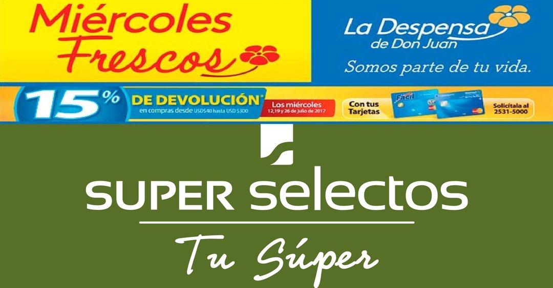 MIERCOLES super FRESCO ahora en frutas, verduras, carnes, embutidos y mas!