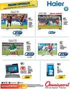 omnisport HAIER televisores pc y wifi