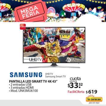 televisores y pantallas samsung con definicion ultra HD 4K