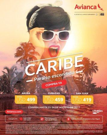 BOLETOS en oferta para viajar a los paraisos escondidos de EL CARIBE