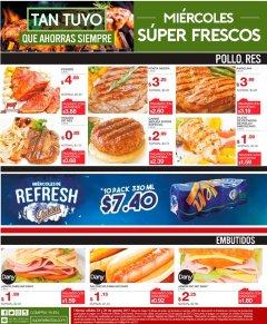 Carnes y Embutidos frescos en SUPER SELECtOS - 23ago17