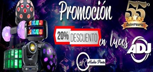 Promocion en Luces LED y computarizadas para DJ y FIESTAS
