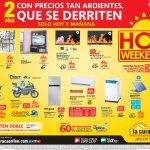 Que productos puedo comprar en el hot Weekend de la curacao el salvador
