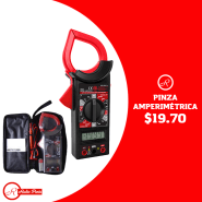 Radio Parts electronica PINZA AMPERIMETRICA tenaza amperica