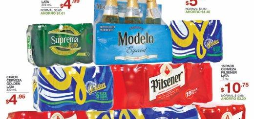 TODAS las cervezas en ofertas ahora en super selectos - 02ago17
