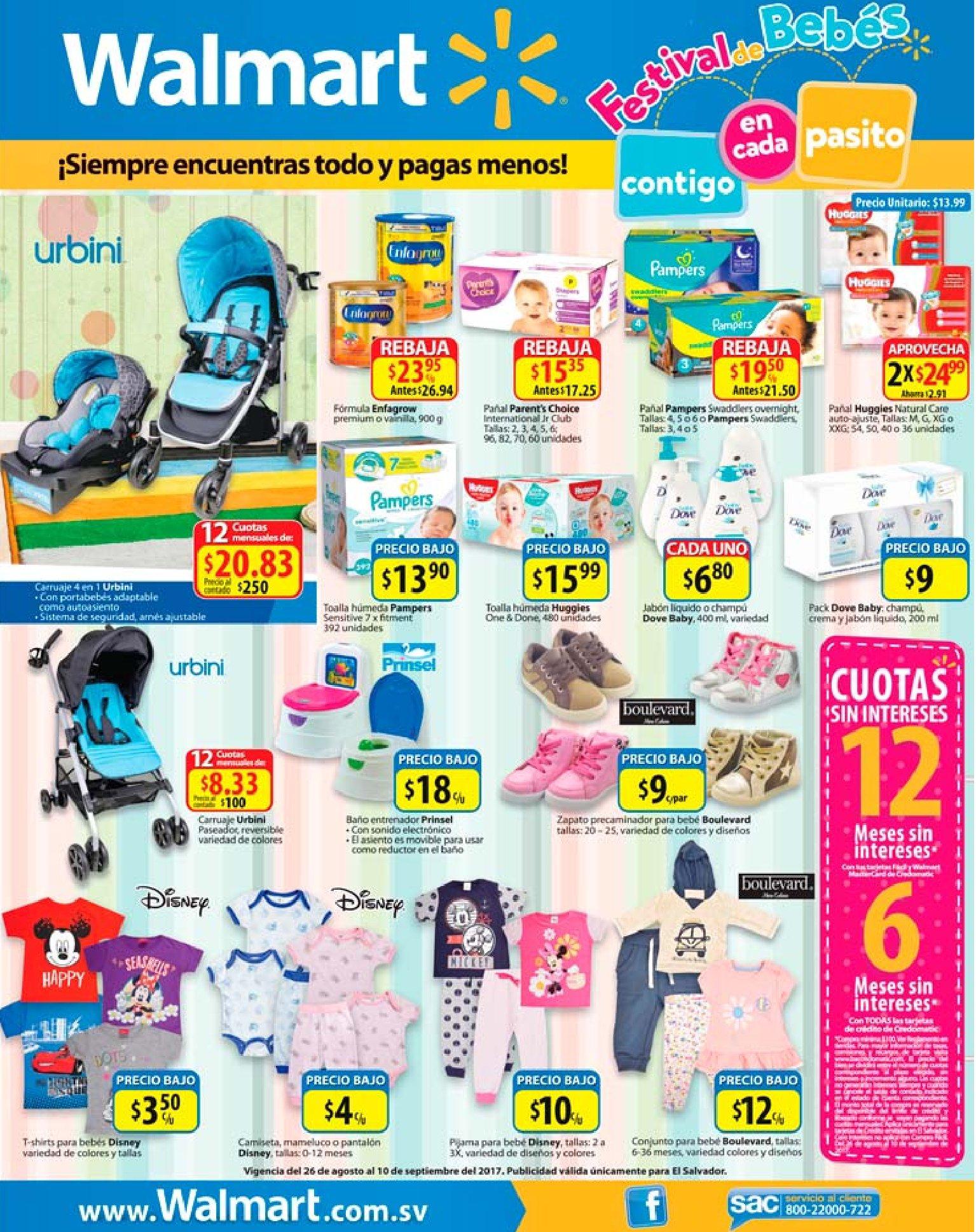 WALMART Productos y accesorios para bebes este finde - Ofertas Ahora eba12d7acf2