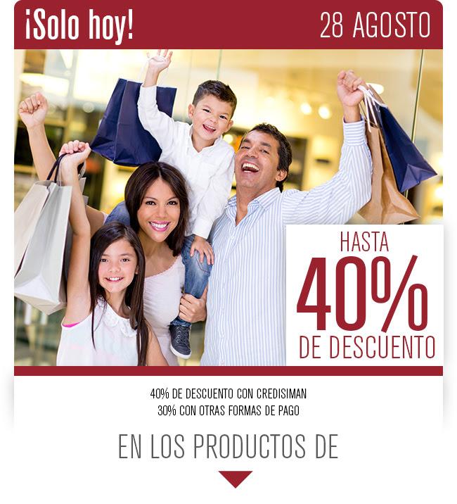 descuentos en tus compras en linea de almacenes siman agosto 2017