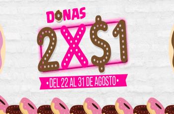panaderia y pasteleria el rosario oferta donas 2x1