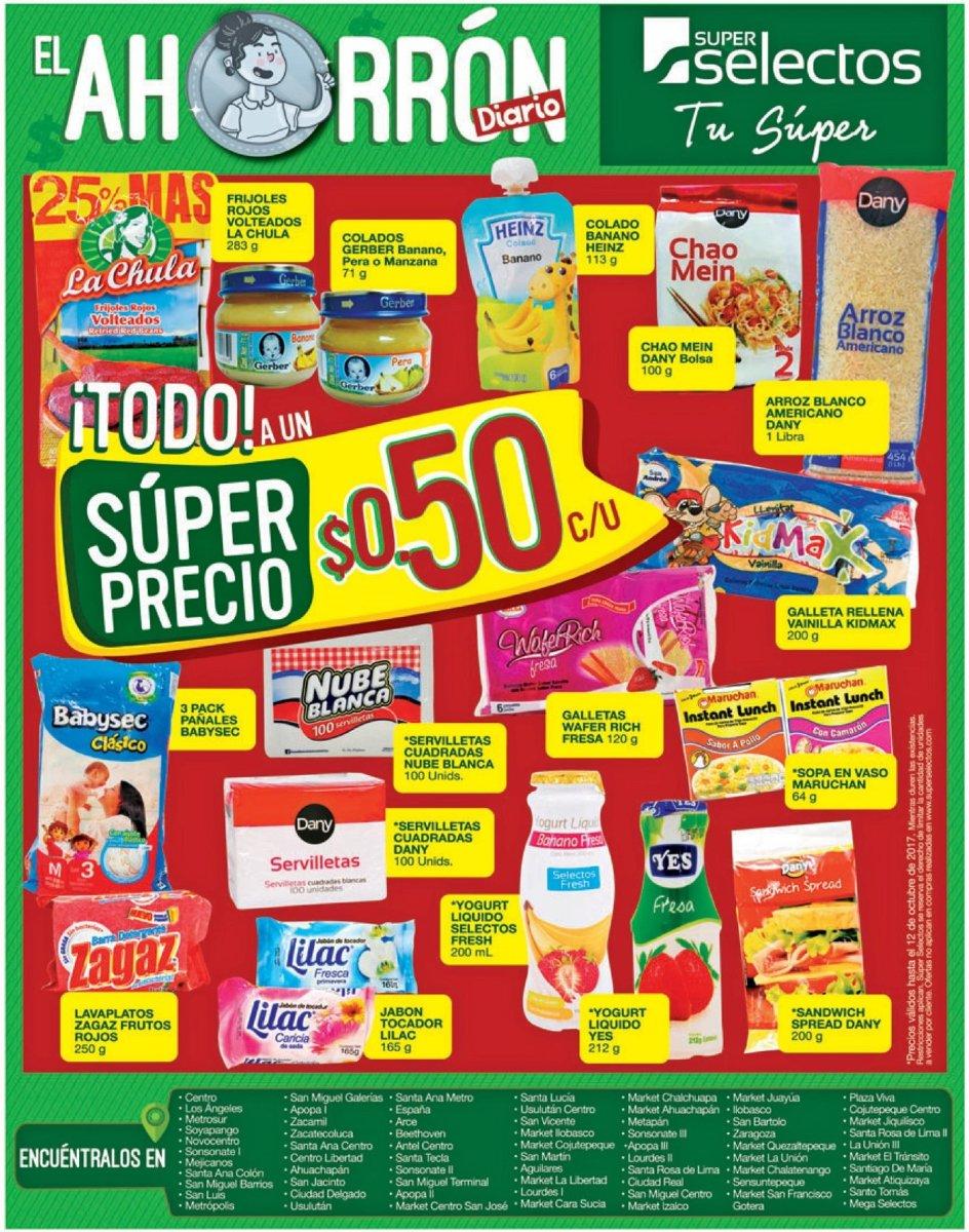 VIERNES de supermercado con MUCHOS descuentos para ti (22-sep-17)