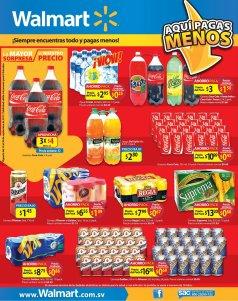 ofertas walmart MEGA pack de ahorro en bebidas