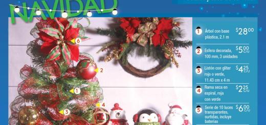 CATALOGO adornos de navidad 2017 La despensa de don juan