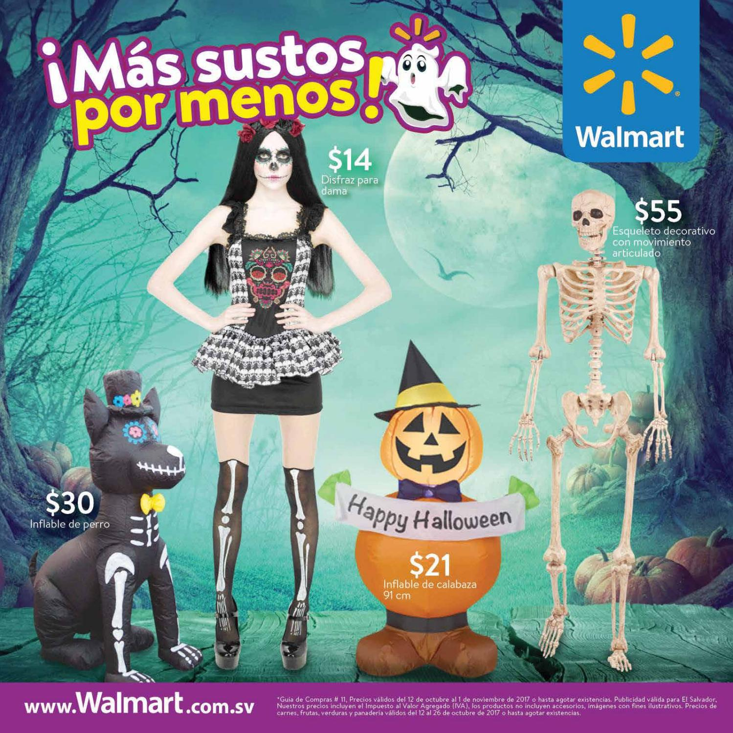 Happy Halloween deals by walmart 2017