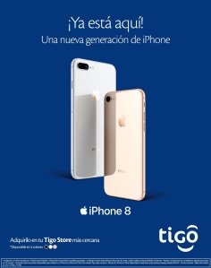 TIGO store la nueva generacion de iPhone 8 disponible