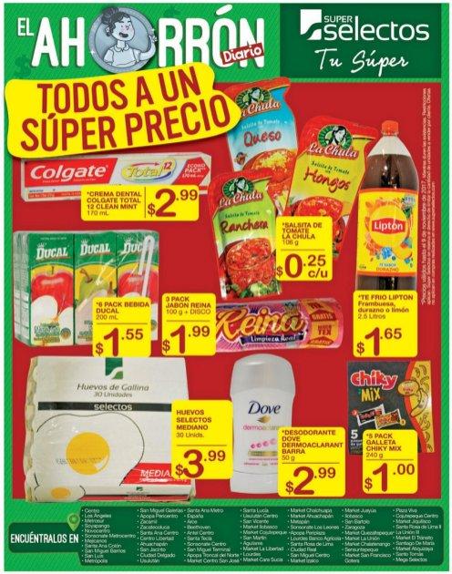 AHORRON de viernes en supermercados superselectod sv nov 2017